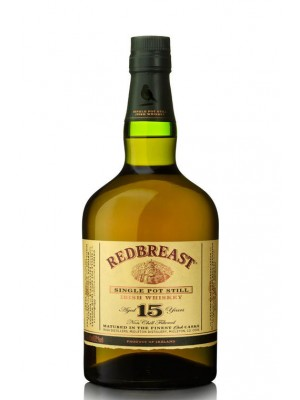 Redbreast Irish Whiskey 15yr 46% ABV 750ml