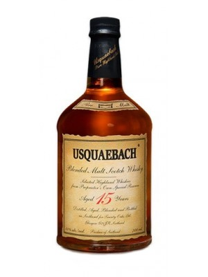 Usquaebach 15 Year Blended Malt Scotch 43% ABV  750ml
