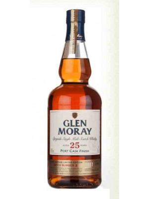 Glen Moray 25yr Speyside Single Malt 43% ABV 750ml