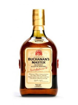 Buchanan's Master blended Scotch Whisky 40% ABV 750ml