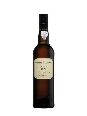 Cossart Gordon Bual Single Harvest Colheita 1997 19% ABV 500ml