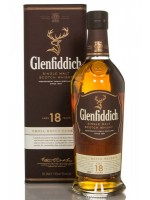 Glenfiddich18yr Single Malt 43% ABV 750ml