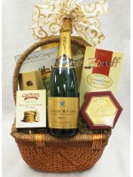 10-BH18 French Sparkling Wine Basket