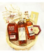 11-BH18 Three Bottle Bourbon Basket