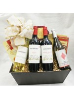 7-BH18 Four Bottle Wine Basket