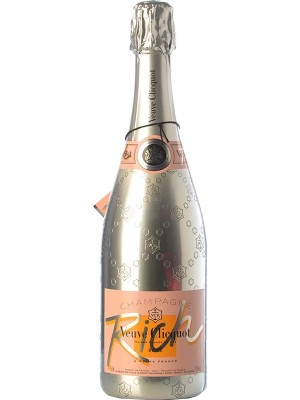 Veuve Clicquot Ponsardin Rich Rose NV 12% ABV 750ml