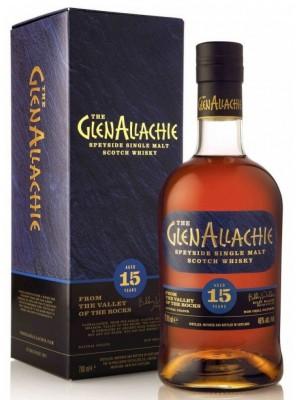 GlenAllachie  15yr Speyside Single Malt 46% ABV 750ml