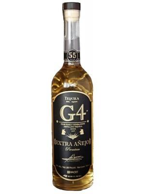 Tequila G4 Extra Anejo 45% ABV 750ml