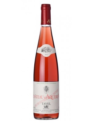 Chateau D'Aqueria Tavel Rose 2017 14% ABV 750ml