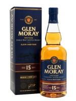 Glen Moray 15yr Speyside Single Malt 40% ABV 750ml