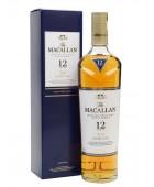 Macallan 12yr Double Cask Highland Single Malt  43% ABV 750ml