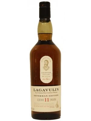 Lagavulin 11 Year Single Islay Malt  46% ABV 750ml