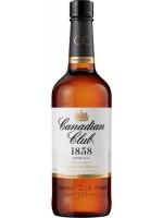 Canadian Club 1858 Original Canadian Whiskey 40% ABV 750ml