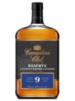 Canadian Club 9yr Reserve  Canadian Whiskey 40% ABV 750ml