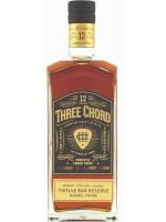 Three Chord 12yr Straight Bourbon 53.5% ABV 750ml