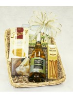 B-2 Single Bottle Chardonnay Basket