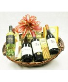 B-5 Four Bottle Wine Basket