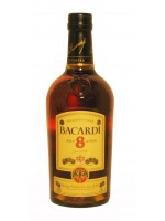 Bacardi 8 Rum (Anos Ron) 750ml