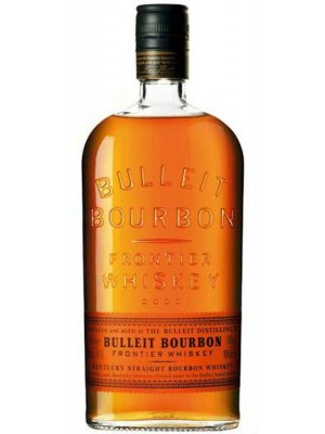 Bulleit  Bourbon Frontier Whiskey  45% ABV  750ml