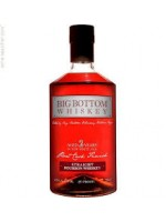 "Big Bottom ""Small Batch"" Straight Bourbon Whiskey Finished in Zinfandel Casks"