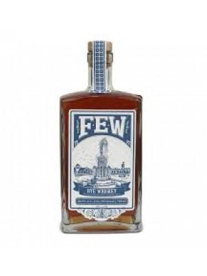 FEW Spirits Rye Whiskey Illinois 46.5% ABV  750ml