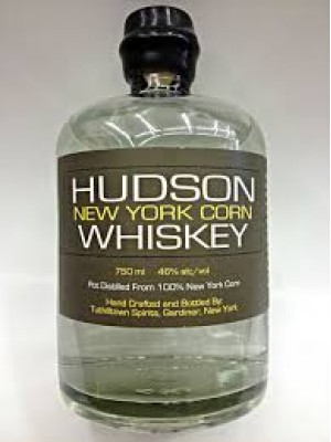 Hudson New York Corn Whiskey  46% ABV 375ml