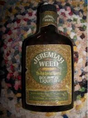 Jeremiah Weed Bourbon Liqueur