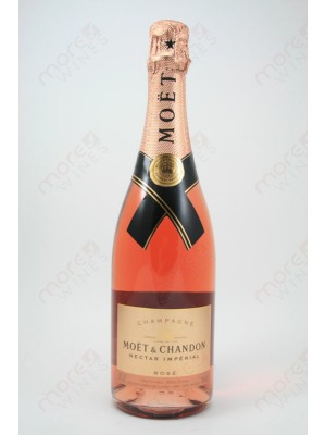 Moet & Chandon Nectar Imperial Rose NV 12% ABV 750ml