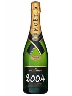 Moet & Chandon Grand Vintage Brut 2004 12% ABV 750ml