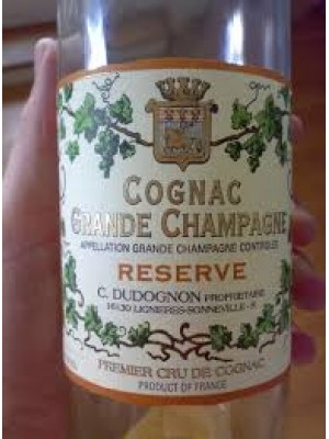 Cognac Grande Champagne Reserve 40% ABV 750ml