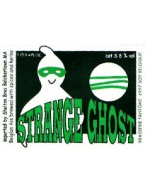 Brasserie Fantôme Strange Ghost 750ml 8% ABV