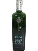 No.3 London Dry Gin 46% ABV 750ml