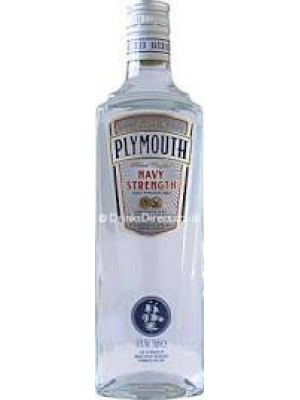 Plymouth  English Gin Navy Strength 57% ABV  750ml