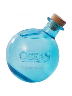Ocean  USDA Certified Organic Vodka from Maui Hawaii  40% ABV 750ml