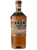 Benham's Barrel Finished Gin 48% ABV 750ml