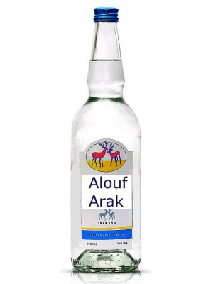 Alouf Arak Israel 50% ABV 750ml
