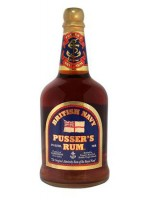 Pusser's British Navy Rum 42% ABV 750ml