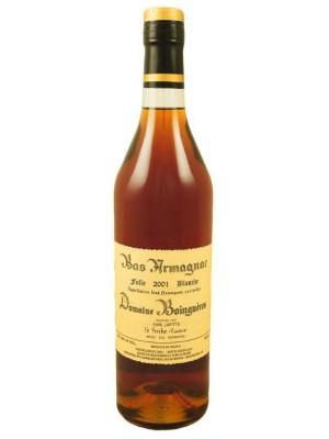 Domaine Boingneres Bas Armagnac 2001 Folle Blanche 49% ABV 750ml
