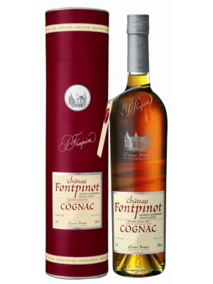 Domaine Chateau de Fontpinot Cognac 20yr  Single Estate 41% ABV 375ml
