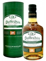 Ballechin 10yr Highland Single Malt 46% ABV 750ml