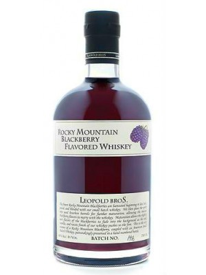Leopold Bros  Rocky Mountain Blackberry Whiskey  40% ABV 750ml