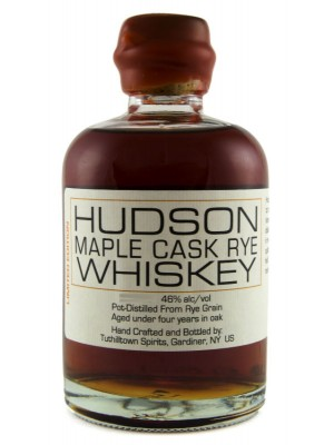 Hudson  Maple Cask Rye Whiskey 46% ABV 750ml