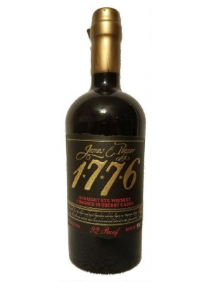 James E. Pepper 1776 Straight Rye PX Sherry Casks  50% ABV 750ml
