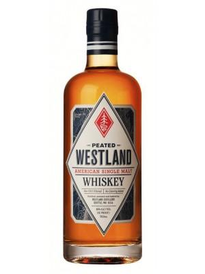 Westland American Single Malt Peated 46% ABV 750ml