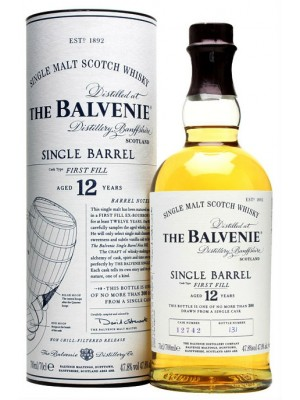 Balvenie 12yr  Single Malt 47.8% ABV 750ml