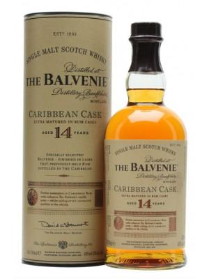 Balvenie 14yr Caribbean Cask Single Malt 43% ABV 750ml