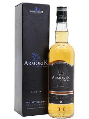 Armorik Classic Single Malt Whisky Breton 46% ABV 750ml