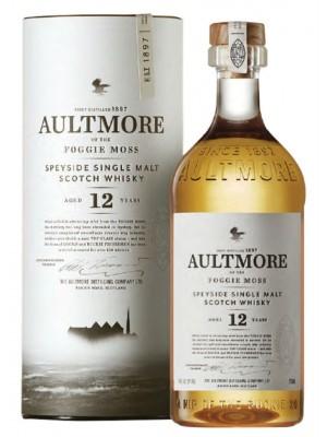 Aultmore 12yr Speyside Single Malt 46% ABV 750ml