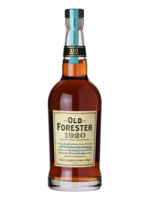 Old Forester 1920 Prohibition Style Kentucky Straight Bourbon 57.5% ABV 750ml