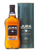 Isle of Jura 18yr Single Malt 44% ABV 750ml